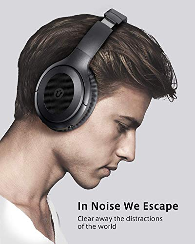 active noise cancelling headphonesutaxo bluetooth headphones over ear with mic hi fi sound deep bass foldable wireless headsetquick charge 30h playtime for cellphone pc tv travel picture 02 - Active Noise Cancelling Headphones,Utaxo Bluetooth Headphones Over Ear with Mic Hi-Fi Sound Deep Bass Foldable Wireless Headset,Quick Charge 30H Playtime for Cellphone PC TV Travel