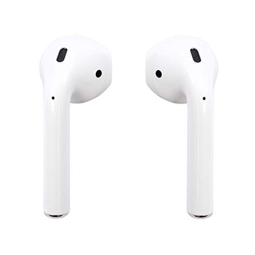 apple mmef2ama airpods wireless bluetooth headset for iphones with ios 10 or later white renewed picture 01 - Apple MMEF2AM/A AirPods Wireless Bluetooth Headset for iPhones with iOS 10 or Later White - (Renewed)