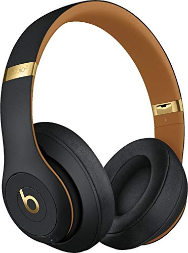 Beats Studio3 Wireless Over-Ear Headphones – The Beats Skyline Collection – Midnight Black (Renewed)
