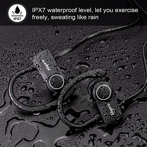 bluetooth headphones hspro wireless earbuds ipx7 waterproof sports headphones bluetooth earbuds cvc60 noise cancelling wireless headphone with microphone 10h playtime photo 02 - Bluetooth Headphones, HSPRO Wireless Earbuds, IPX7 Waterproof Sports Headphones Bluetooth Earbuds, CVC6.0 Noise Cancelling Wireless Headphone with Microphone, 10H Playtime