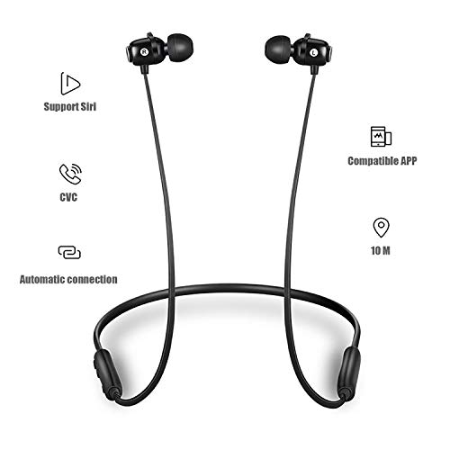 bluetooth headphoneswireless earbuds bluetooth 50 ipx5 waterproofmagnetichifi bass stereo sweatproof earbuds wmic noise cancelling headset for workout running gym 8 hours play time picture 1 - Bluetooth Headphones,Wireless Earbuds Bluetooth 5.0, IPX5 Waterproof,Magnetic,HiFi Bass Stereo Sweatproof Earbuds w/Mic, Noise Cancelling Headset for Workout, Running, Gym, 8 Hours Play Time