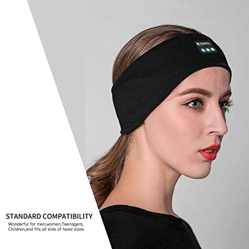 bluetooth sleep headphones lavince wireless sports headband headphones with ultra thin hd stereo speakers perfect for workoutjoggingyogainsomnia side sleepers air travel meditation image 02 - Bluetooth Sleep Headphones, Lavince Wireless Sports Headband Headphones with Ultra-Thin HD Stereo Speakers Perfect for Workout,Jogging,Yoga,Insomnia, Side Sleepers, Air Travel, Meditation