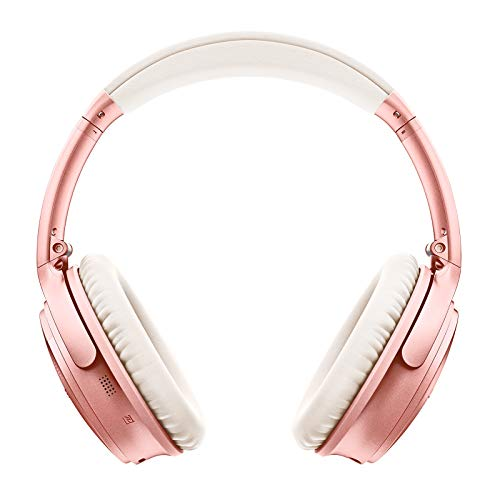 bose quietcomfort 35 ii wireless bluetooth headphones noise cancelling with alexa voice control enabled with bose ar rose gold photo 01 - Bose QuietComfort 35 II Wireless Bluetooth Headphones, Noise-Cancelling, with Alexa voice control, enabled with Bose AR – Rose Gold