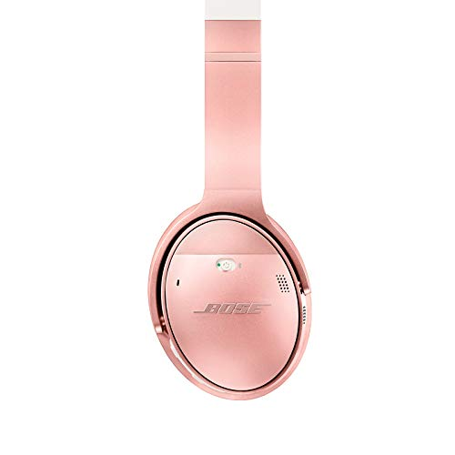 bose quietcomfort 35 ii wireless bluetooth headphones noise cancelling with alexa voice control enabled with bose ar rose gold picture 002 - Bose QuietComfort 35 II Wireless Bluetooth Headphones, Noise-Cancelling, with Alexa voice control, enabled with Bose AR – Rose Gold