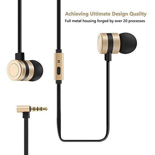 earbuds besiva in ear headphones noise isolation headsets heavy bass earphones with microphone compatible iphone samsung ipad and most android phonesoo3 picture 2 - Earbuds, Besiva in-Ear Headphones Noise Isolation Headsets Heavy Bass Earphones with Microphone Compatible iPhone Samsung iPad and Most Android Phones,oo3