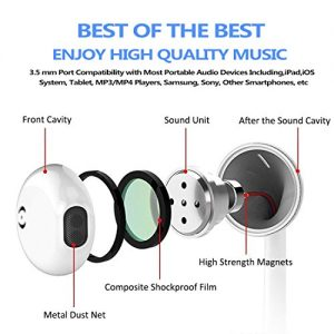 my handy design earbuds microphone earphones stereo headphones noise isolating headset fit compatible with iphone xs maxxsxrx 10 iphone 77 plus8 8plus white picture 001 300x300 - my-handy-design Earbuds, Microphone Earphones Stereo Headphones Noise Isolating Headset Fit Compatible with iPhone Xs MaxXSXRX 10 iPhone 77 Plus8 8Plus [White] picture 001