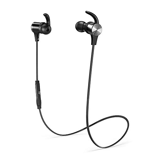 taotronics bluetooth headphones 2019 upgrade wireless 50 magnetic earbuds snug fit for sports with cvc 80 built in mic tt bh07 ipx6 waterproof aptx stereo 9 hours playtime photo 8 - TaoTronics Bluetooth Headphones [2019 Upgrade] Wireless 5.0 Magnetic Earbuds Snug Fit for Sports with CVC 8.0 Built in Mic TT-BH07 (IPX6 Waterproof, aptX Stereo, 9 Hours Playtime)
