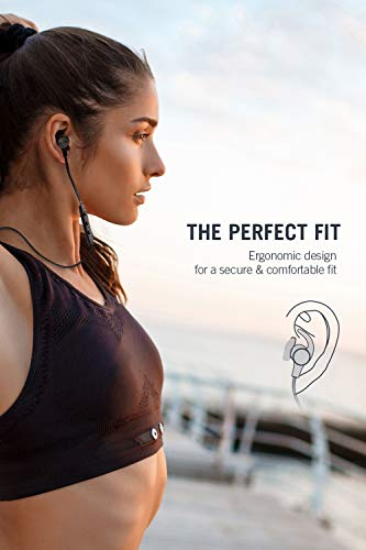 taotronics bluetooth headphones 2019 upgrade wireless 50 magnetic earbuds snug fit for sports with cvc 80 built in mic tt bh07 ipx6 waterproof aptx stereo 9 hours playtime picture 1 - TaoTronics Bluetooth Headphones [2019 Upgrade] Wireless 5.0 Magnetic Earbuds Snug Fit for Sports with CVC 8.0 Built in Mic TT-BH07 (IPX6 Waterproof, aptX Stereo, 9 Hours Playtime)