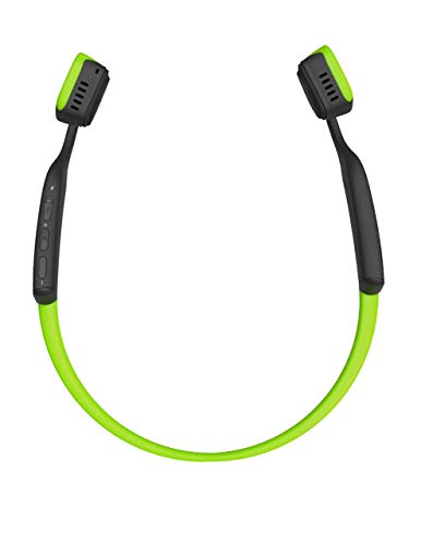 Aftershokz AS600IG Trekz Titanium Open Ear Wireless Bone Conduction Headphones, Ivy Green (Renewed)