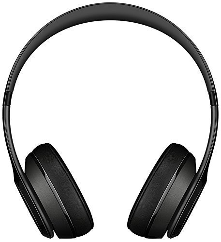 beats by dr dre solo2 bluetooth wireless on ear headphone with mic black renewed image 02 - Beats by Dr. Dre Solo2 Bluetooth Wireless On-Ear Headphone with Mic - Black (Renewed)