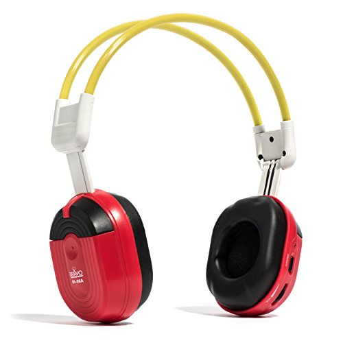 Bravo View IH-06A – KID FRIENDLY Automotive IR Wireless Headphones (Single Source)