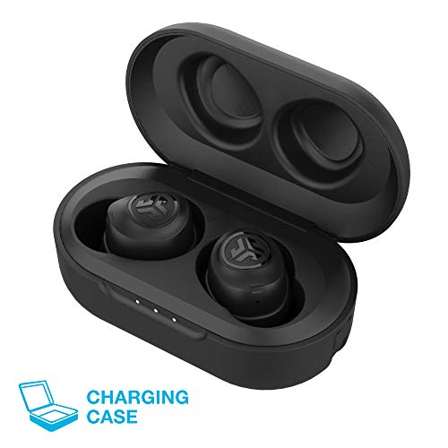 jlab audio jbuds air true wireless signature bluetooth earbuds charging case black ip55 sweat resistance bluetooth 50 connection 3 eq sound settings jlab signature balanced bass photo 02 - JLab Audio JBuds Air True Wireless Signature Bluetooth Earbuds + Charging Case - Black - IP55 Sweat Resistance - Bluetooth 5.0 Connection - 3 EQ Sound Settings: JLab Signature, Balanced, Bass Boost