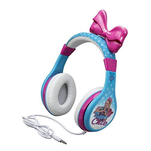 jojo siwa headphones for kids with built in volume limiting feature for kid friendly safe listening picture 001 - JoJo Siwa Headphones for Kids with Built in Volume Limiting Feature for Kid Friendly Safe Listening