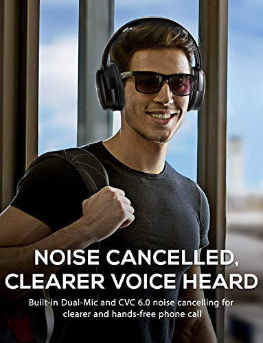 mpow h10 2019 edition dual mic active noise cancelling bluetooth headphones anc over ear wireless headphones with cvc 60 microphone hi fi deep bass foldable headset for travelwork photo 2 - Mpow H10 [2019 Edition] Dual-Mic Active Noise Cancelling Bluetooth Headphones, ANC Over-Ear Wireless Headphones with CVC 6.0 Microphone, Hi-Fi Deep Bass, Foldable Headset for Travel/Work