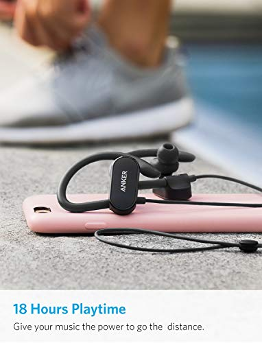 upgraded anker soundbuds curve wireless headphones bluetooth 50 sports earphones 18 hour battery workout headset with ipx7 waterproof built in mic and carry pouch photo 1 - [Upgraded] Anker SoundBuds Curve Wireless Headphones, Bluetooth 5.0 Sports Earphones, 18-Hour Battery, Workout Headset with IPX7 Waterproof, Built-in Mic, and Carry Pouch