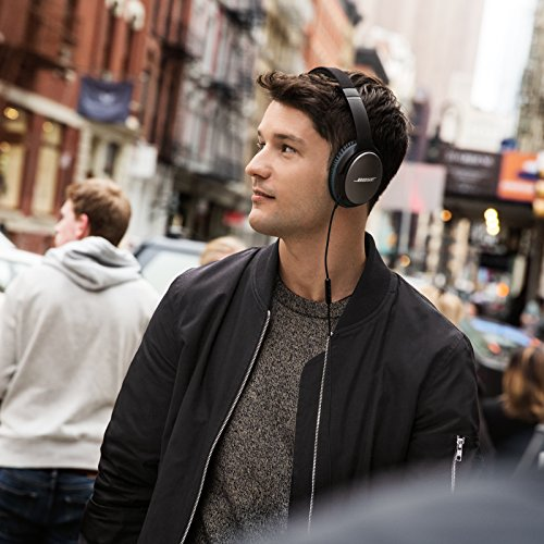 Bose QuietComfort 25 Acoustic Noise Cancelling Headphones for Android devices – Black (Wired)