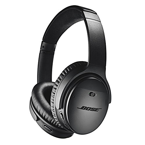 bose quietcomfort 35 ii wireless bluetooth headphones noise cancelling with alexa voice control enabled with bose ar black picture 1 - Bose QuietComfort 35 II Wireless Bluetooth Headphones, Noise-Cancelling, with Alexa voice control, enabled with Bose AR - Black