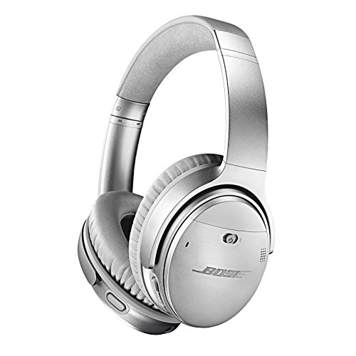 bose quietcomfort 35 ii wireless bluetooth headphones noise cancelling with alexa voice control enabled with bose ar silver one size 789564 0020 picture 001 - Bose QuietComfort 35 II Wireless Bluetooth Headphones, Noise-Cancelling, with Alexa voice control, enabled with Bose AR - Silver, One Size - 789564-0020