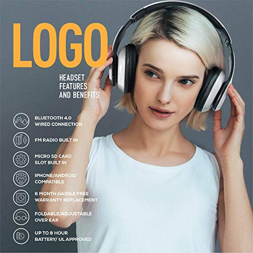 ijoy matte finish premium rechargeable wireless headphones bluetooth over ear headphones foldable headset with mic stealth photo 02 - iJoy Matte Finish Premium Rechargeable Wireless Headphones Bluetooth Over Ear Headphones Foldable Headset with Mic (Stealth)