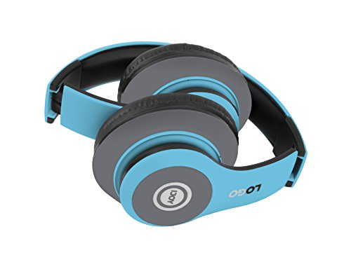 ijoy matte rechargeable wireless bluetooth foldable over ear headphones with mic avatar image 2 - iJoy Matte Rechargeable Wireless Bluetooth Foldable Over Ear Headphones with Mic, Avatar
