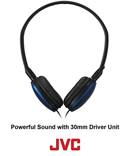 jvc black flat and foldable colorful flats on ear headphone with 394 foot gold plated phone slim plug has160b picture 002 - JVC Black Flat and Foldable Colorful Flats On Ear Headphone with 3.94 foot Gold Plated Phone Slim Plug HAS160B