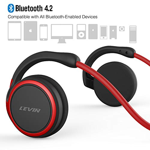 levin bluetooth 42 headphones image 02 - LEVIN Bluetooth 4.2 Headphones