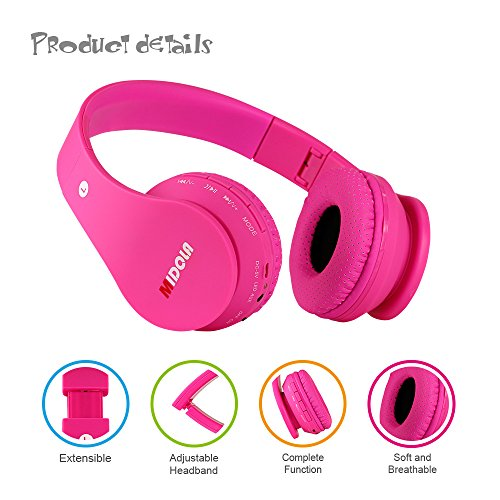 MIDOLA Kids Bluetooth Wireless