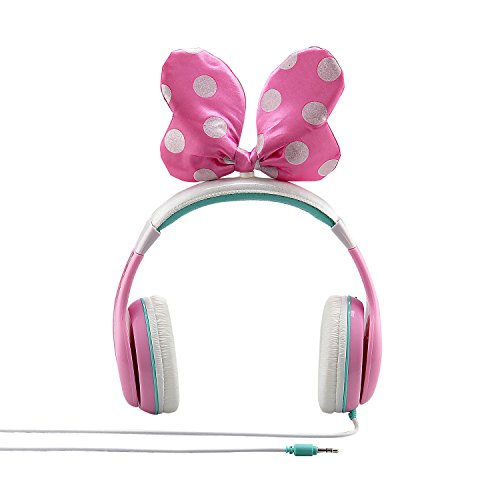 minnie mouse headphones for kids with built in volume limiting feature for kid friendly safe listening image 2 - Minnie Mouse Headphones for Kids with Built in Volume Limiting Feature for Kid Friendly Safe Listening