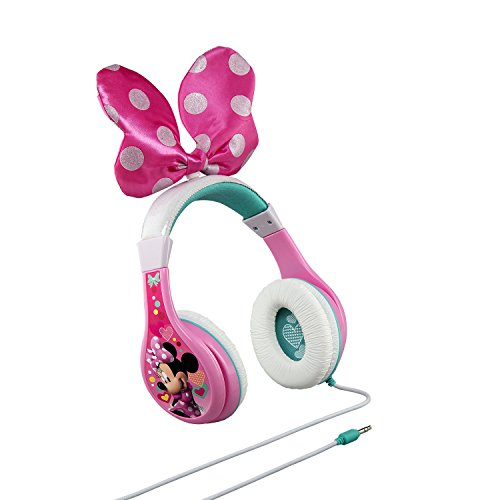 minnie mouse headphones for kids with built in volume limiting feature for kid friendly safe listening photo 001 - Minnie Mouse Headphones for Kids with Built in Volume Limiting Feature for Kid Friendly Safe Listening