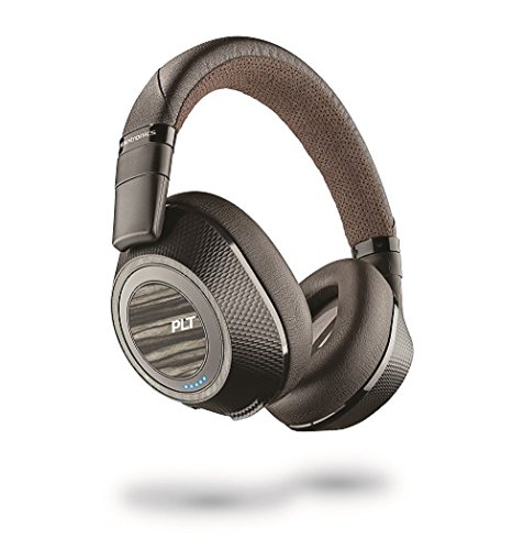 Plantronics Wireless Noise Cancelling Backbeat – Headphones (Black & Tan) (Pro 2)