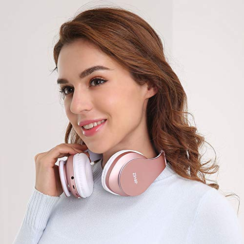 bluetooth over ear headphones zihnic picture 1 - Bluetooth Over-Ear Headphones, Zihnic