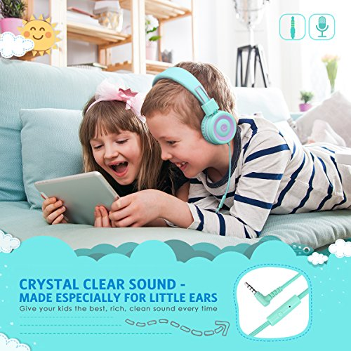 Criacr Kids Headphones, Noise