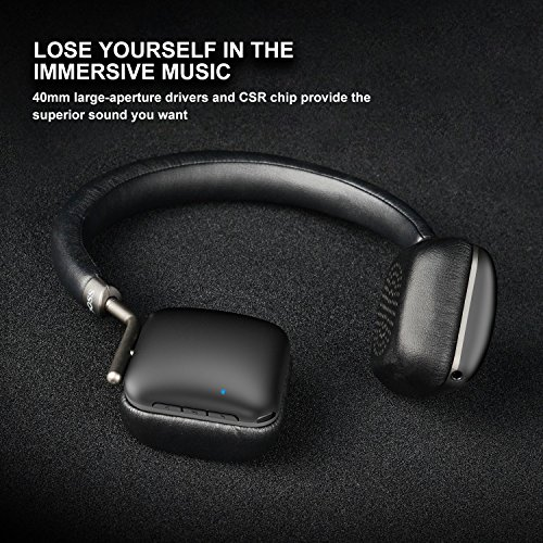 doss bluetooth headphones on picture 001 - DOSS Bluetooth Headphones On