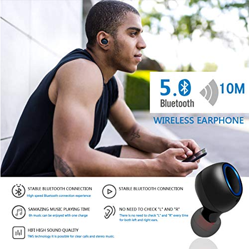 HCLIFE Wireless Earbuds, Bluetooth