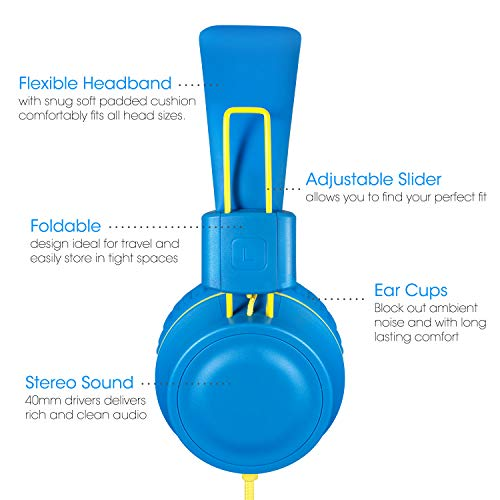 kids headphones noot products k33 picture 1 - Kids Headphones-noot products K33
