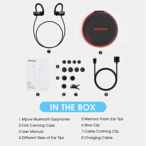 Mpow D7 Bluetooth Headphones