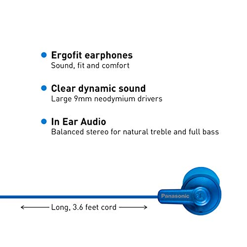 panasonic ergofit in ear earbud picture 1 - Panasonic ErgoFit in-Ear Earbud