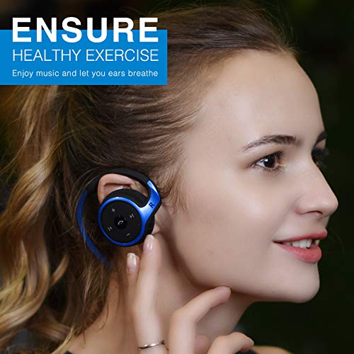 small bluetooth headphones behind photo 01 - Small Bluetooth Headphones Behind