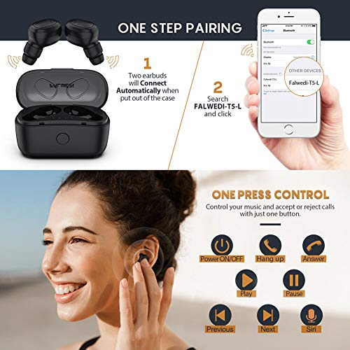true wireless earbuds falwedi image 1 - True Wireless Earbuds, Falwedi