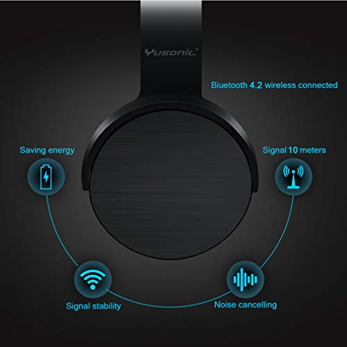 Bluetooth Headphones, Yusonic Wireless