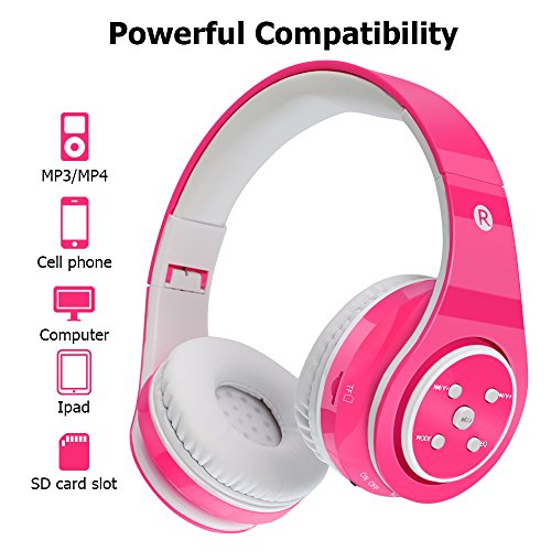 Kids Bluetooth Headphones Wireless/Wired