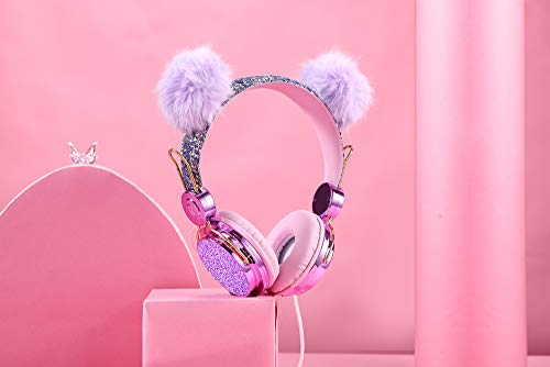 Kids Headphones Glitter Bear