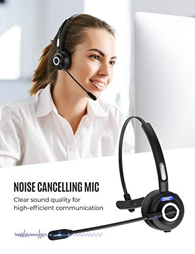 mpow bluetooth headset with picture 01 - Mpow Bluetooth Headset with