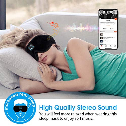MUSICOZY Sleep Headphones, Bluetooth