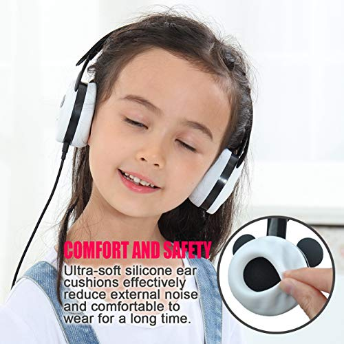 panda kids headphones with photo 002 - Panda Kids Headphones with