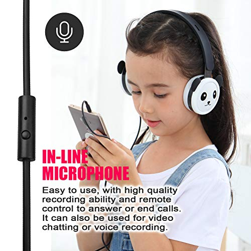 panda kids headphones with photo 1 - Panda Kids Headphones with