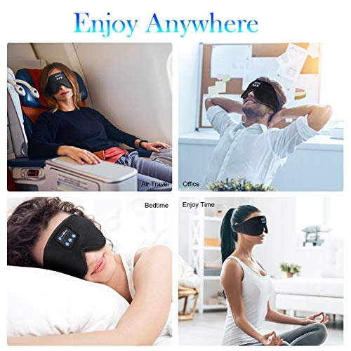 WUMINGLU Sleep Headphones,Bluetooth 5.0