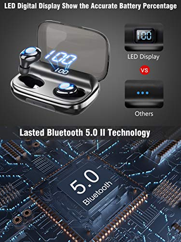 Bluetooth Earbuds GUSGU Wireless