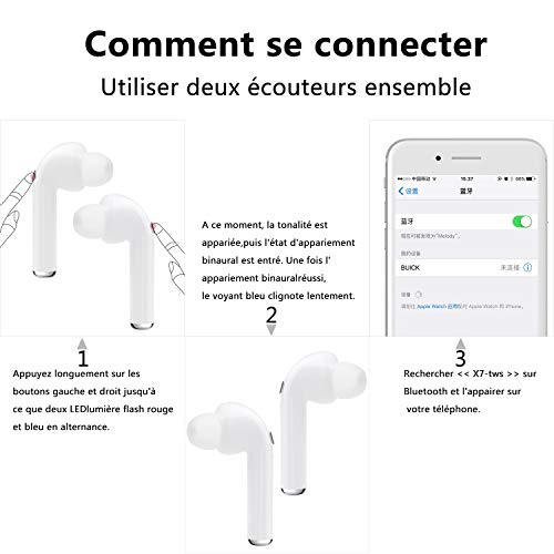 Bluetooth Headset Wireless Earbuds