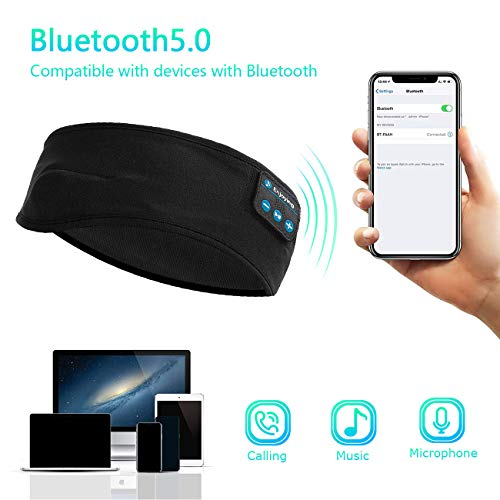 Bluetooth Sleep Headphones Eye